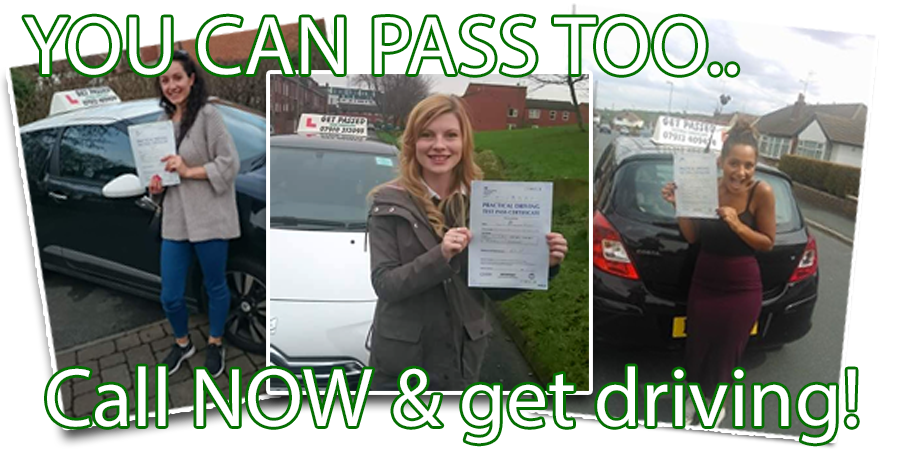 Driving lessons with Get Passed Driving School